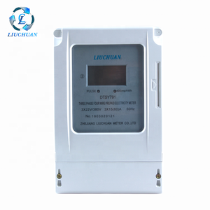 Rs485 3 phase energy cycling power prepaid meter