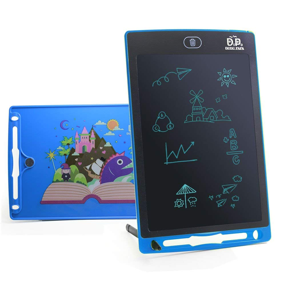 Teerwere LCD Tablet 3 Pcs LCD Tablet Childrens Drawing Board Graffiti Board Light Energy Writing Board LCD Writing Tablet LCD Writing Tablet Board Color : Green, Size : 8.5 inches