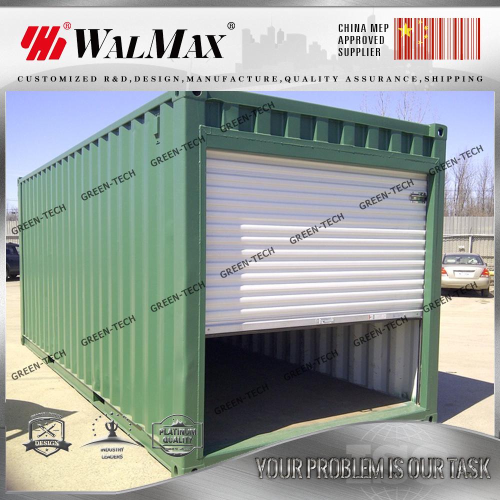 Ch la027 structure en acier pr fabriqu conteneur d for Container garage prix