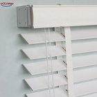 YL high quality decorative wooden white blinds manual venetian blinds