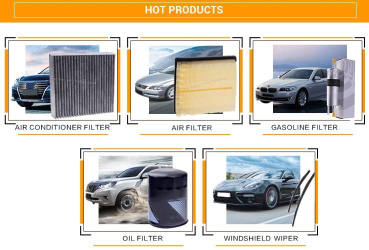 Commercio all'ingrosso filtro aria condizionata 0.3u porosità attivo filtro aria in carbonio per Mazda CX-5