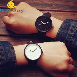 WJ-5944 Best Selling Student Casual Watch Popular Leather Strap Wristwatch Personality Famous Lighter Watch For Women