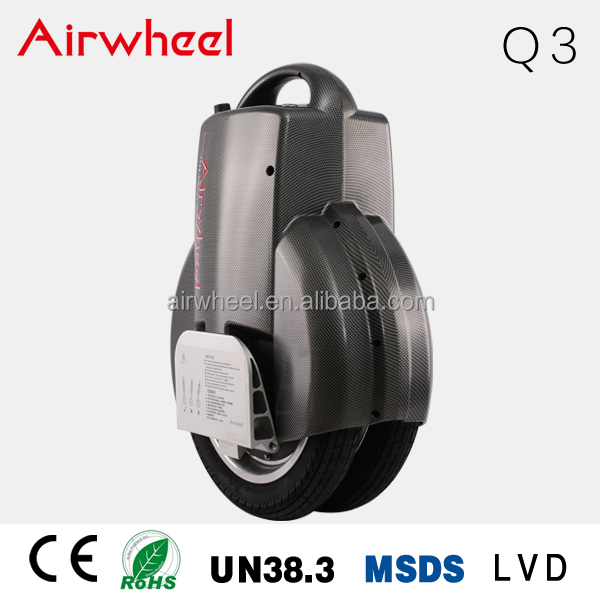 Q3 New Airwheel Self Balance Unicycle 350w street e scooter Long Driving Range Scooter