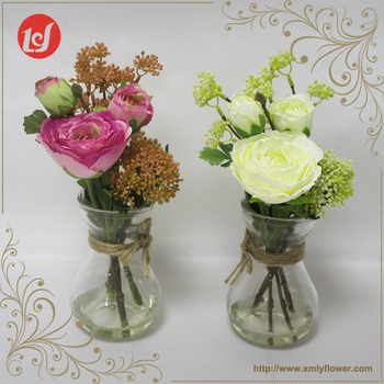 Sfb32002 China Cheap Wholesale Table Wedding Decor Silk Flower In