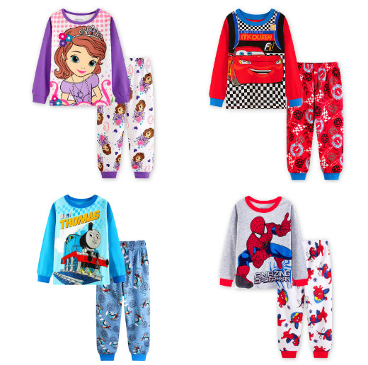frozen clothes kids children sofia pajamas kids Thomas sleepwear