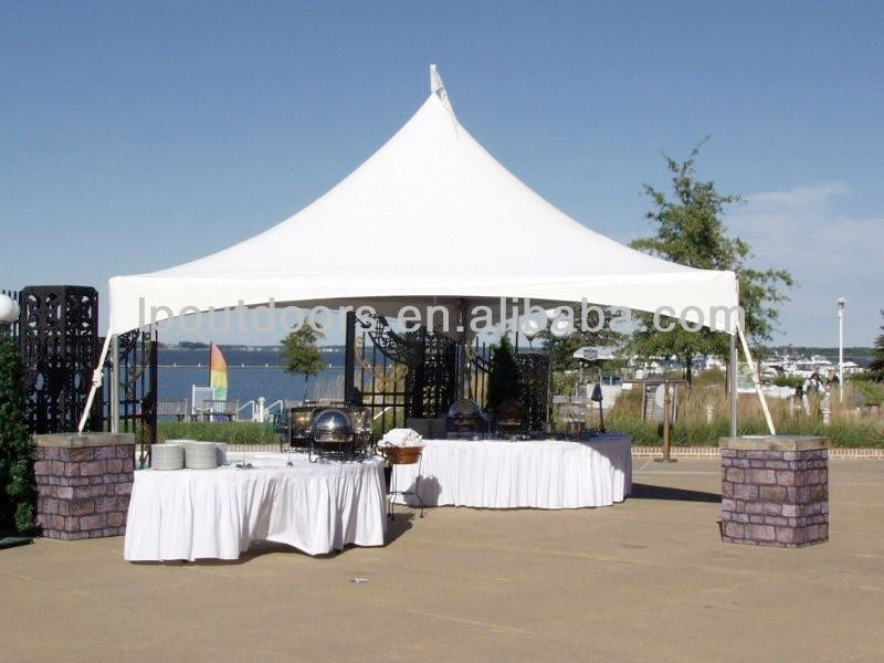 5x5m outdoor canopy tents high peak gazebo for sale