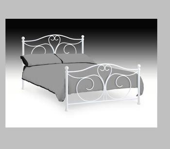 Bed Designs White Metal Frame