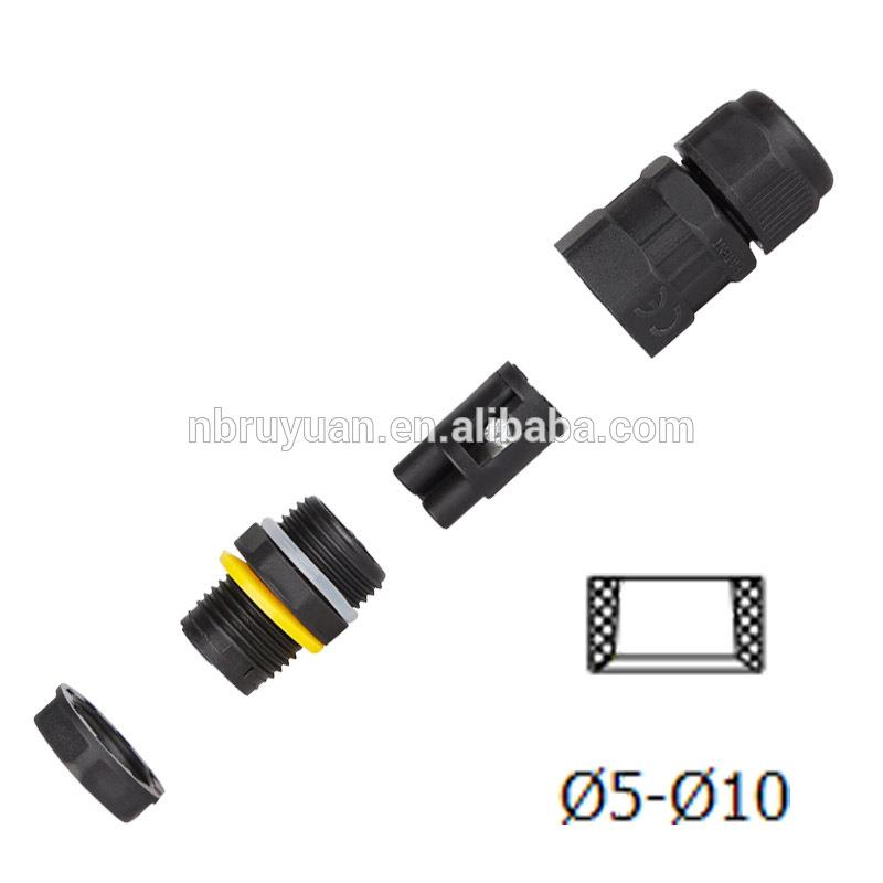 Right Angle F Female Jack RF Connector PCB Mount With Post Terminal 4 Hole F Type Female Panel Mount Connector
