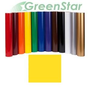 """GreenStar Sun Flower Yellow Sign Vinyl 24""""x10Yd, Graphics 