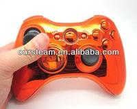 Custom Chrome Orange Controller Shell For Xbox 360 Console - Buy ...