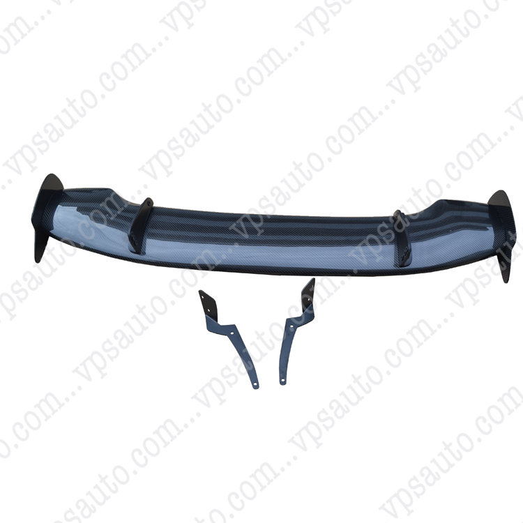 High Quality For Honda Fit Jazz Tail Carbon Fiber Rear JS Style Spoiler 2008