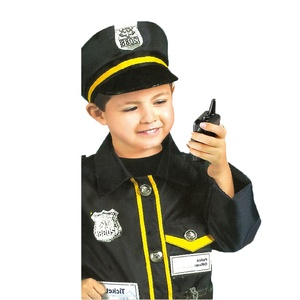 Carnival Career Cop Suit Costume Children Police Officer Uniform Outfits Halloween Cosplay Party Police Costume For Kids
