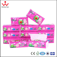 Best Quality Coloured Pop-Up Facial Tissue