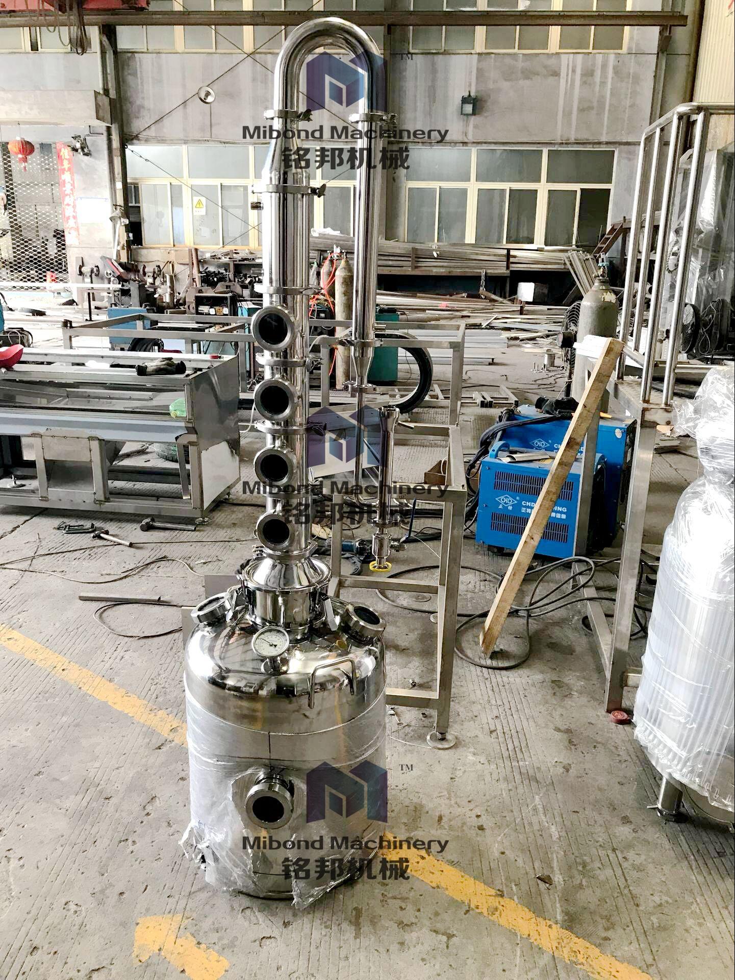 50/100/200 Liter Sectional Stainless Steel/copper Alcohol Moonshine Reflux  Still/distillation Column Price - Buy 50 Liter Stainless Steel