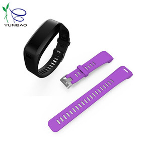 Factory manufacturer custom bright color silicone watchband