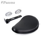 Universal Custom Aritificial Leather Neoprene Foam Motorcycle Spring Mount Solo Seat/Saddle for Sportster Bobber Chopper