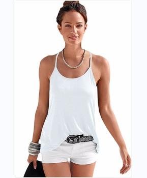 New Brand 2017 Women Deep V-Neck Sexy Strappy Sleeveless Vest Women Tank  Casual Tops 280aa9b9e2f1