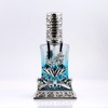 MUB Excellent Design Series middle east metal perfume bottle with blue flower