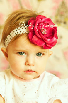 Baby Hair Bands Baby Big Flower Headbands Hairband Hair Bow Children s  Hairbands 6a9c12e9afd