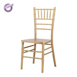 ZY24400 wholesale cheap wedding stackable wood gold chiavari chair