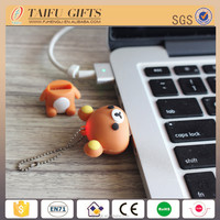 Custom 3D mini bear 8GB special usb flash drive