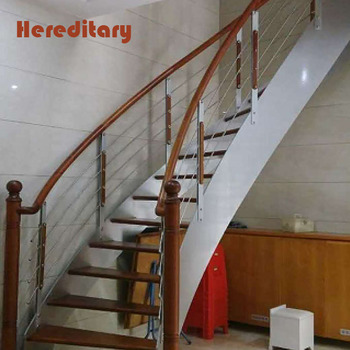 Interior Luxury Solid Beech Wood Staircase Round Stairs Parts - Buy  Interior Wood Stairs,Round Stairs,Stair Parts Product on Alibaba com