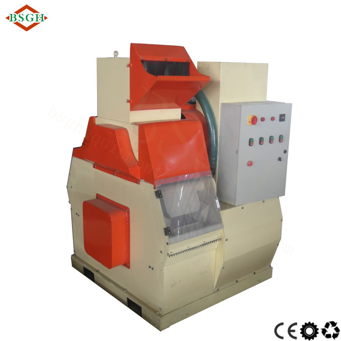 Hot selling high efficiency copper wire cable shredding separating machine/ copper & plastic sorting machine