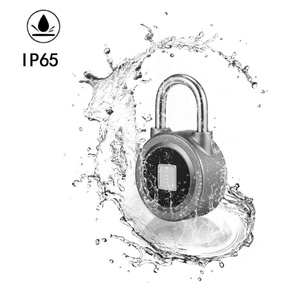 Electric Combination Lock Safety Padlocks Zinc alloy / Stainless Steel Safety Tagout Lockout Padlock with Fingerprint