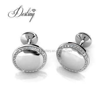 3e148051ee05 Destiny Jewellery trendy design men s cufflink made with crystal from  swarovski