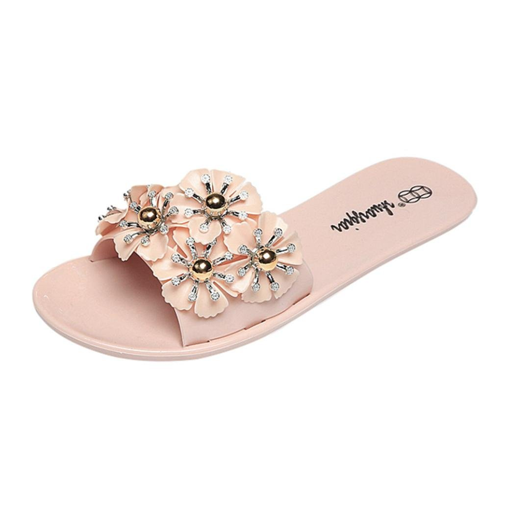 a61564ee984316 Get Quotations · Women s Floral Flat Sandals