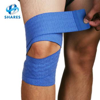 Elasticated Soft Open Patella Adjustable Knee Bandage Knee Brace