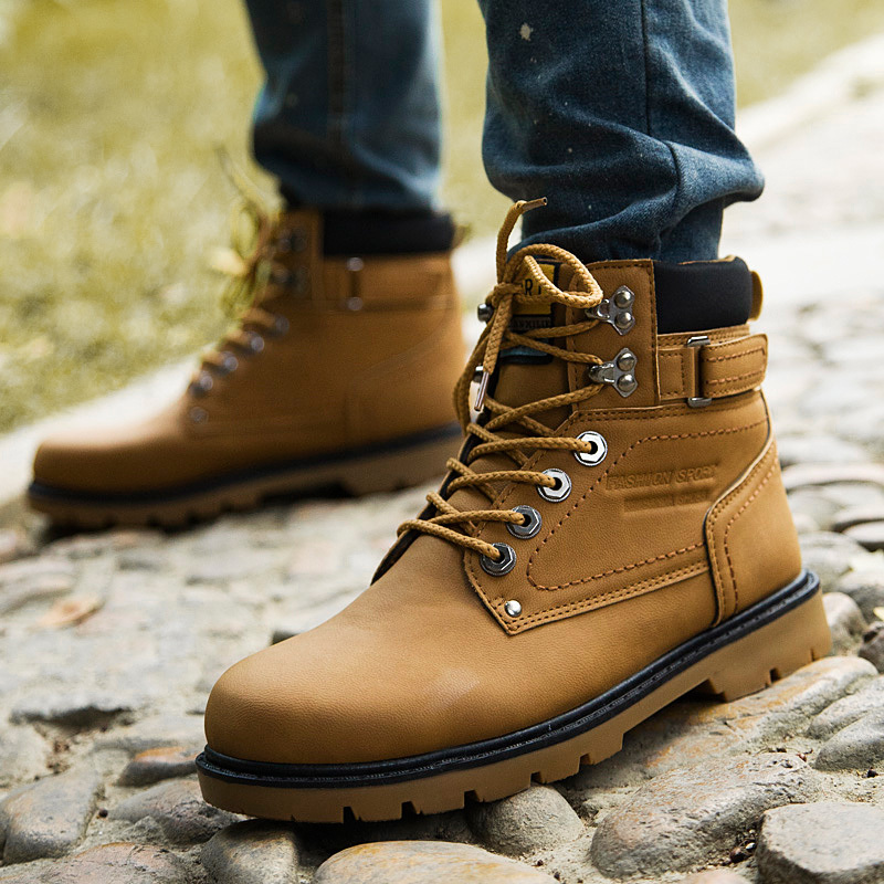 2015 winter cool thick snow boots for men and women couple