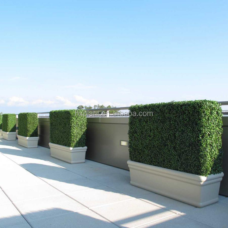 Plastic Milan Grass Boxwood Hedge,Landscaping Home Decoration Hedge Panel