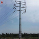 High Quality Galvanized Steel Electric Pole for Transmission Tower