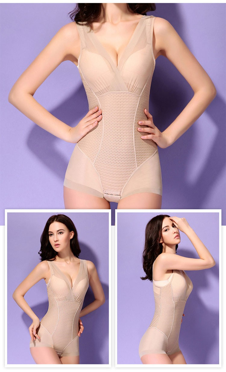 High Quality Autumn Milk Protein Women Bodysuit Postpartum Body Shaper Slimming Seamless Corset