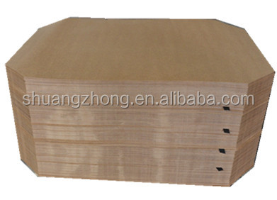 moisture resistant brown paper compact slip pallet for push pull machine