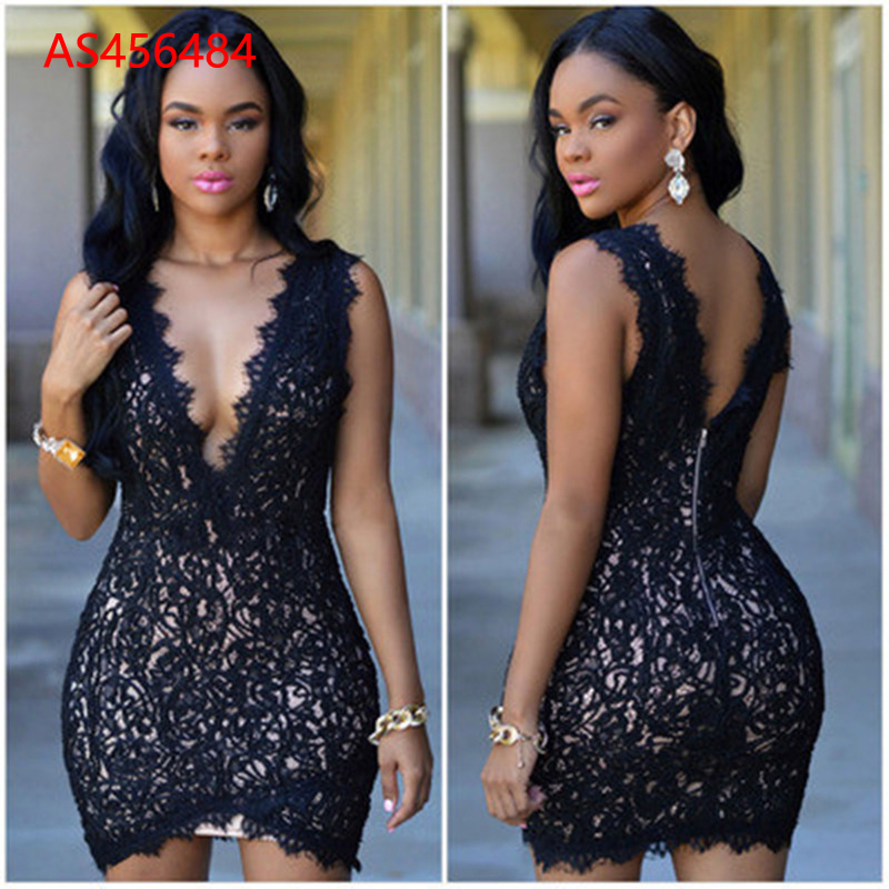 Wholesale woman Fashion Summer Sexy Bandage Dress AS456485