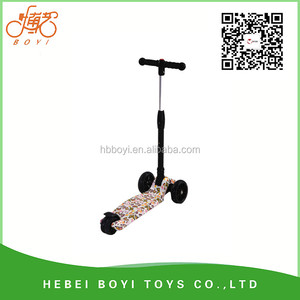 mini children scooter 4 wheeled foldable 116mm wheel china child scooter