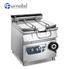 Furnotel Stainless Steel Electric Or Gas Tilting Braising Boiling Pans