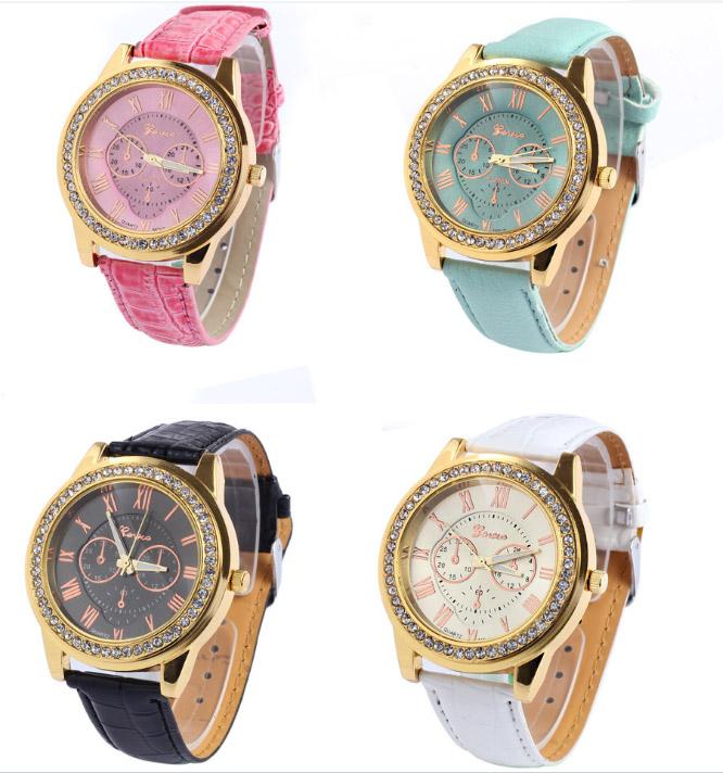coleccin elegante brazalete modelo de ginebra relojes reloj de la juventud canad