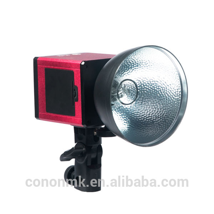 Cononmlk mini 8 piles AA 100 w LED HSS flash de Studio