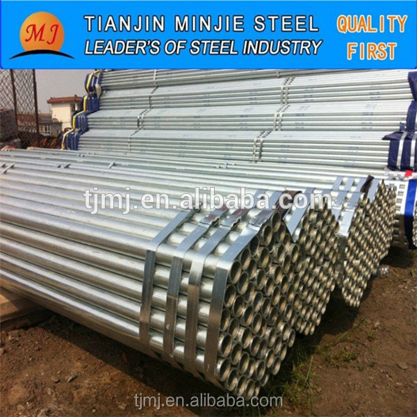 Pre hot dip galvanized round steel pipe hollow <strong>tube</strong> of China supplier