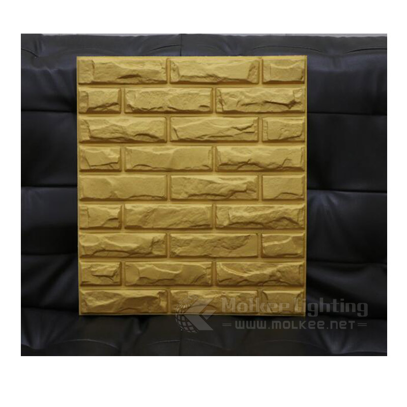 Beautiful Brick Design pvc Embossed Panel 3d pvc Decorative Wall Covering Panels