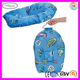 E227 Baby Infant Bath Pad Pillow Sponge Blue Fish Printed Baby Sponge Pillow