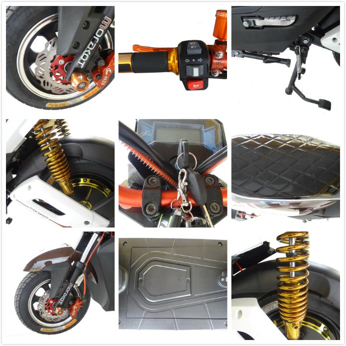 60 v 800 watt 2 rad elektrische motorrad ohne pedale mini. Black Bedroom Furniture Sets. Home Design Ideas