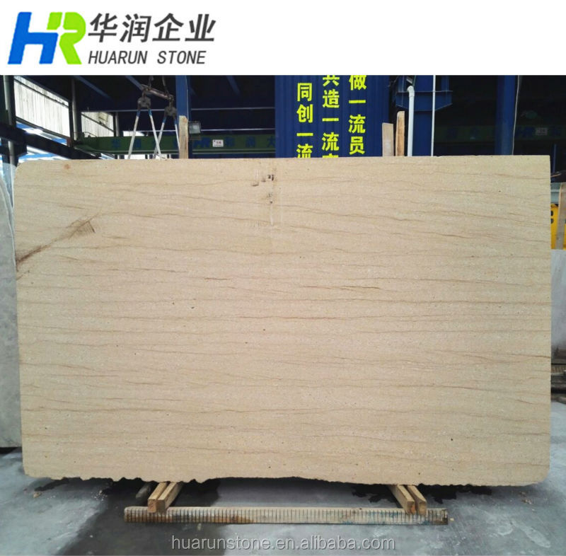 Best Selling Natural Wooden Yellow Sandstone