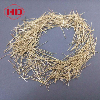 High Tensile Copper Coated Steel Fibers for Concrete Reinforcement