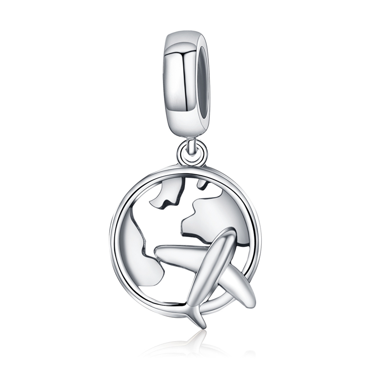 Popular Selling Charm Qings 925 Sterling <strong>Silver</strong> The Dream And Traveling Charm