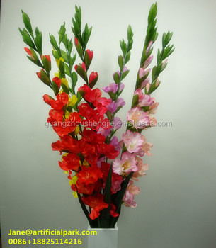 Hot sales artificial gladiolus flowers made in chinadecorative hot sales artificial gladiolus flowers made in chinadecorative artificial gladiolus flower fake flowers made mightylinksfo