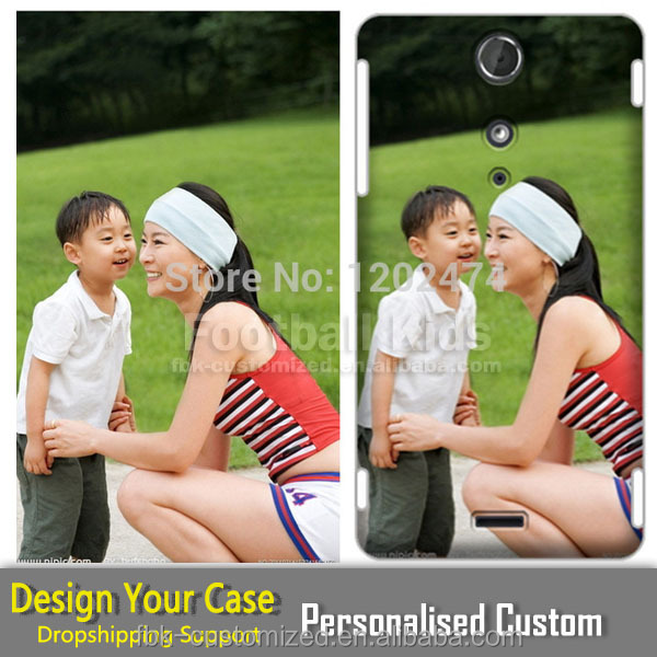 Custom Design Plastic Phone Shell Mobile Accessory Painting Phone Cover Case For Sony Ericsson
